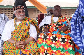 You will bear the consequences if Rawlings's Chieftaincy oath is not withdrawn – Anlo Chiefs to govt