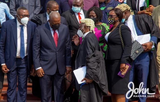 Social media users react to SC ruling on NDC's subpoena application for Jean Mensa