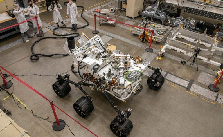 Perseverance rover: Nasa robot heading for a bulls-eye landing