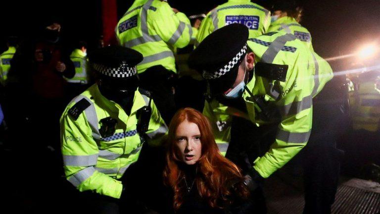 Sarah Everard: What went wrong at the Clapham vigil?