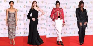 Bafta Film Awards 2021: Red carpet in pictures