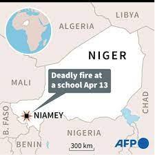 Niger mourns 20 children killed in school blaze