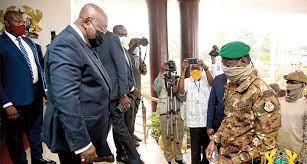Mali coup leader heads to Ghana for ECOWAS crisis talks