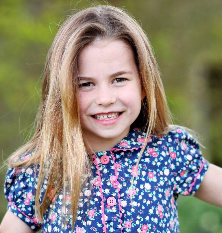 Princess Charlotte celebrates sixth birthday