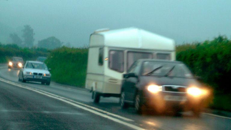 Met Office storm warning for campsites and caravans
