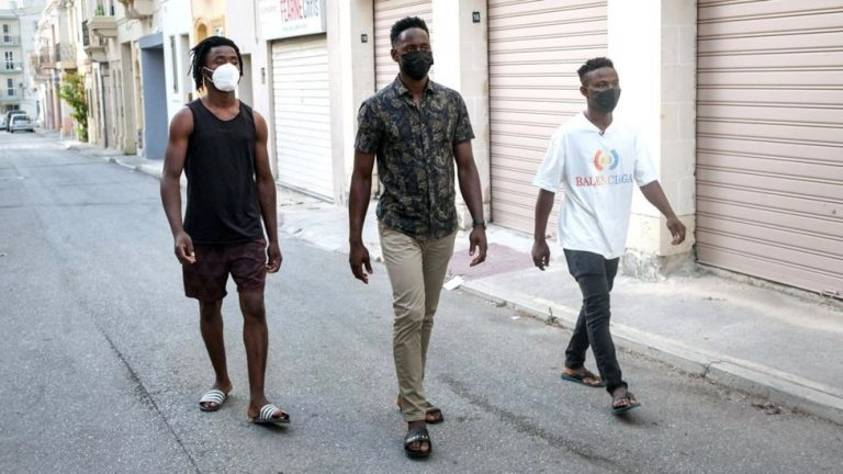 Malta: The teenagers pulled from the sea and accused of terrorism
