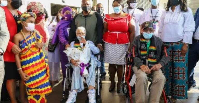 Ghana welcomes survivors of 1921 Tulsa massacre